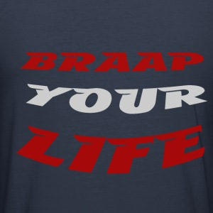 Braapyourlife Crew - Männer Slim Fit T-Shirt