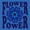 Flowerpower, blomster, mode, Mandala hippie stil - Herre Slim Fit T-Shirt