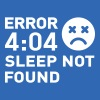 Error 404 Sleep not found - Männer Slim Fit T-Shirt
