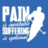 Pain Is Inevitable, Suffering Is Optional - Männer Slim Fit T-Shirt