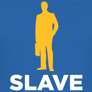 Jeg er en corporate slave - Herre Slim Fit T-Shirt