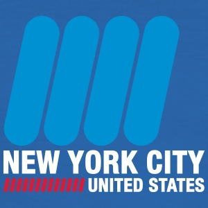 New York City, USA - Slim Fit T-shirt herr