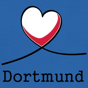 I love Dortmund! - Men's Slim Fit T-Shirt