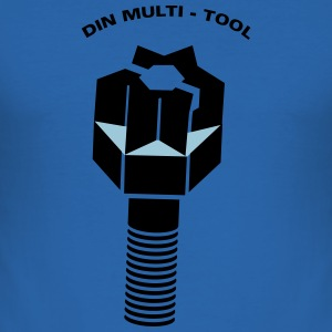 DIN MULTITOOL - slim fit T-shirt