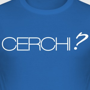 Cerchi - Herre Slim Fit T-Shirt