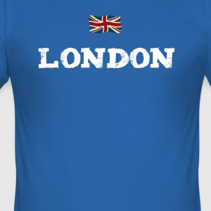 london England Union Jack brexit Great brittain lo - Männer Slim Fit T-Shirt
