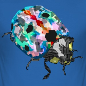 trippy Ladybug - Slim Fit T-skjorte for menn