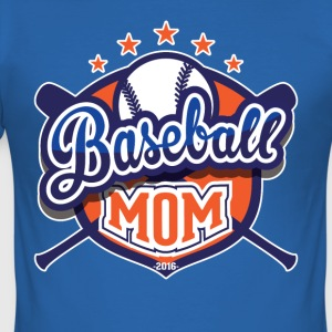 Baseball mamma - Slim Fit T-shirt herr