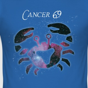 Astrology Cancer Zodiac July Birthday Star - Men's Slim Fit T-Shirt