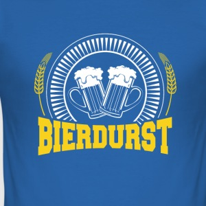 Bierdurst - Männer Slim Fit T-Shirt