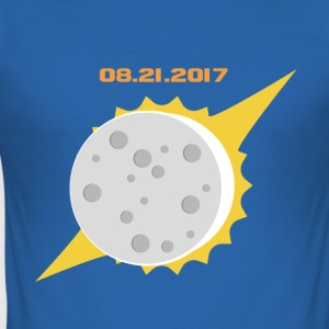 Solformørkelse 2017/08/21 USA - Herre Slim Fit T-Shirt