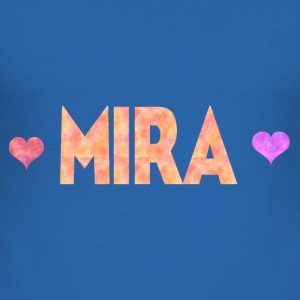 Mira - Slim Fit T-shirt herr