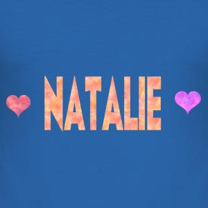Natalie - Slim Fit T-shirt herr
