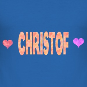 Christof - Herre Slim Fit T-Shirt