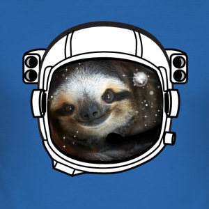 casque faultier Astronaut all star était cool fun LOL - Tee shirt près du corps Homme