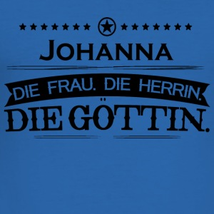 bursdag legende Goettin Johanna - Slim Fit T-skjorte for menn