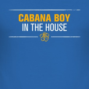 cabana boy distressed - Männer Slim Fit T-Shirt