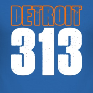 Detroit 313 Shirt - slim fit T-shirt