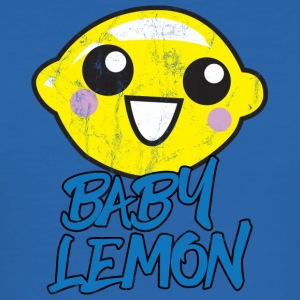 Frugt / frugt: Baby Lemon - sød citron - Herre Slim Fit T-Shirt
