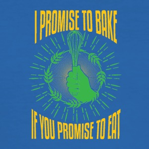 I promise to bake - Men's Slim Fit T-Shirt