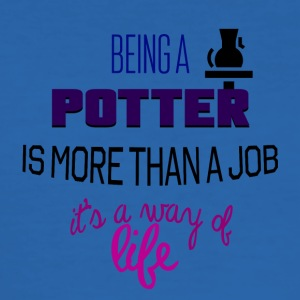 Being a potter - Men's Slim Fit T-Shirt
