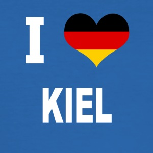 I Love Germany KIEL - Men's Slim Fit T-Shirt
