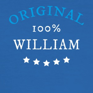 Originele 100% William, cadeau - slim fit T-shirt