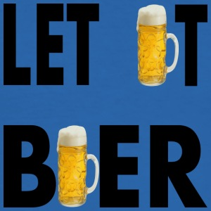 LET IT BEER - Slim Fit T-shirt herr