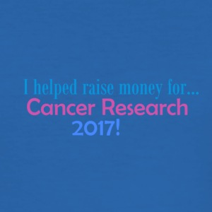 Cancer Research 2017! - Slim Fit T-shirt herr