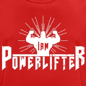I AM POWERLIFTER - Men's Breathable T-Shirt