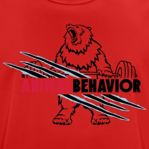 Animal behavior scratch, crush - Men's Breathable T-Shirt