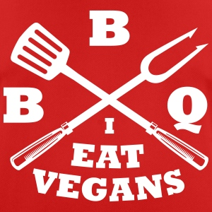 Barbecue in the eat vegans - Men's Breathable T-Shirt