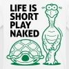 Life is short. Play Naked! - Men's Breathable T-Shirt