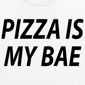 Pizza is my bae - Männer T-Shirt atmungsaktiv