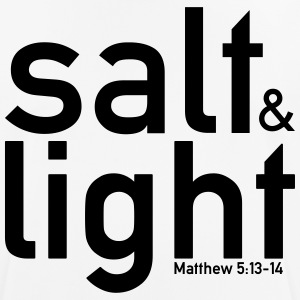 Salt & Light - Matthew 5:13-14 - Männer T-Shirt atmungsaktiv