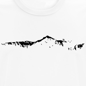 Swiss Mountain Skyline - Männer T-Shirt atmungsaktiv