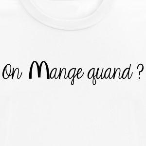 On mange quand ? - T-shirt respirant Homme