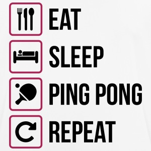 Eat Sleep Ping Pong Repeat - table tennis - Men's Breathable T-Shirt