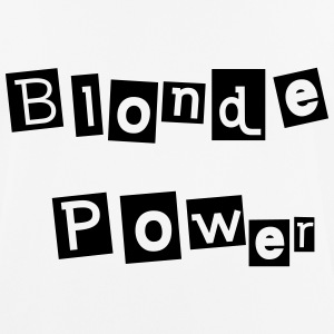 Blonde Power - Männer T-Shirt atmungsaktiv