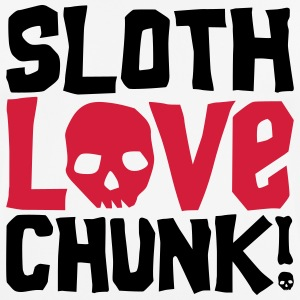 Sloth Love Chunk! - Men's Breathable T-Shirt