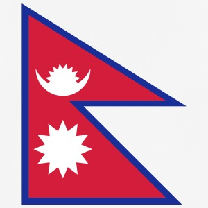 National Flag of Nepal - Andningsaktiv T-shirt herr