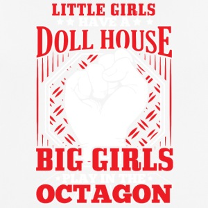 MMA LITTLE GIRLS OCTAGON - Männer T-Shirt atmungsaktiv