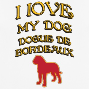 I LOVE MY DOG Dogue de Bordeaux - Men's Breathable T-Shirt