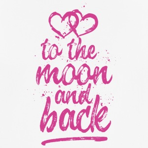 Two Hearts, Love you To the moon and back - pink - Men's Breathable T-Shirt