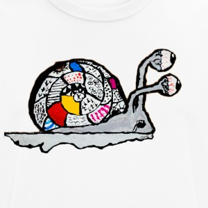 The snail of the end of the childhood - Men's Breathable T-Shirt
