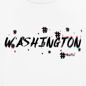 Washington #3d - Men's Breathable T-Shirt