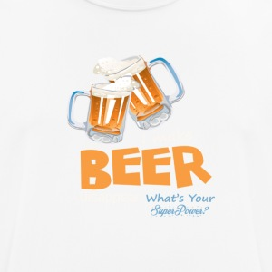 BEER | WHATS YOUR SUPER POWER? - Men's Breathable T-Shirt