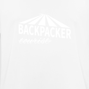 Backpacker - niet toerist - mannen T-shirt ademend