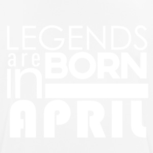 Legends are born in April - Men's Breathable T-Shirt