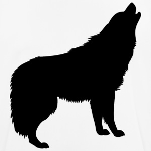 Howling Wolf - Men's Breathable T-Shirt